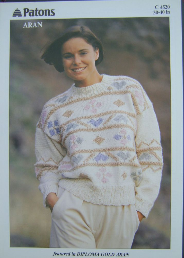 Patons Knitting Pattern 4520